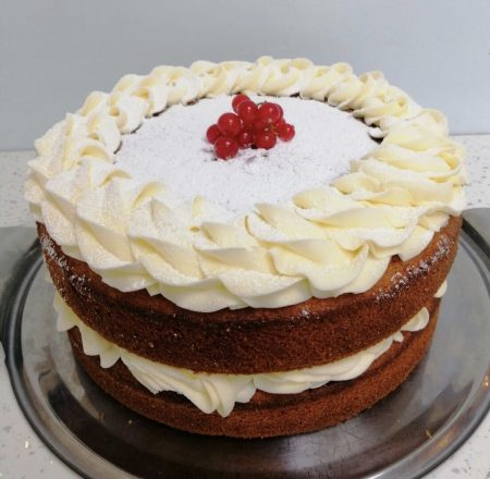Decorated Victoria Sponge Cake